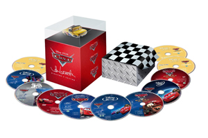 Cars 2 11 Disc Blu-Ray Set