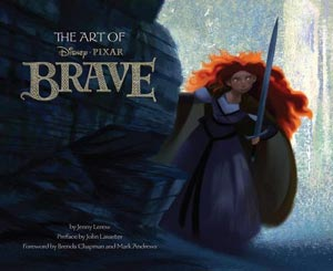 Art of Brave Book Cover