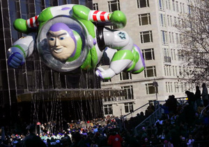 Buzz Lightyear Thanksgiving Balloon