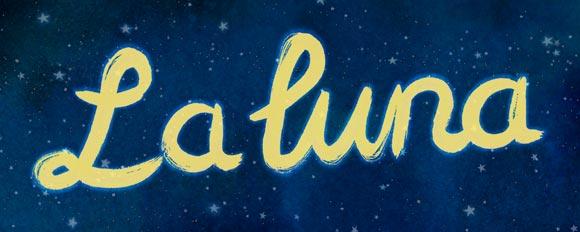 Pixar La Luna Short Film Logo