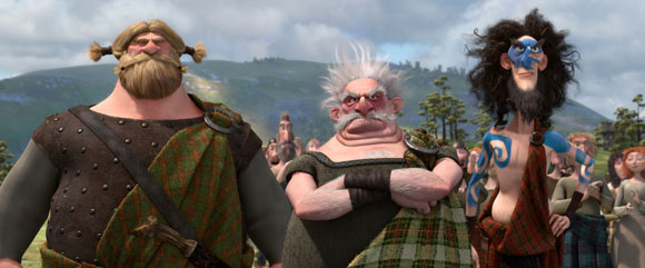 The Three Lords from Pixar's Brave
