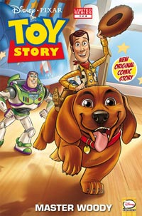 Toy Story Comic Book Cover