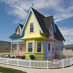 UP replica house in Herriman, Utah