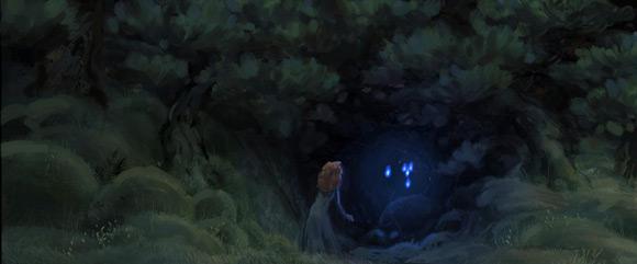 Pixar Brave Forest Concept Art