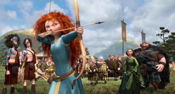 Pixar Brave Merida Archer Princess