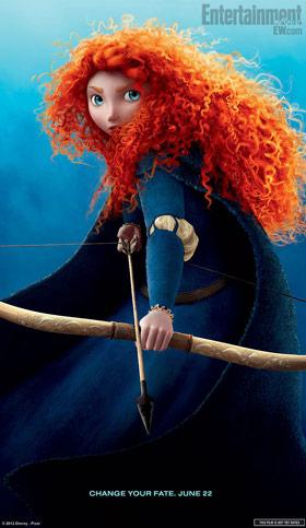 Princess Merida Brave Character Poster