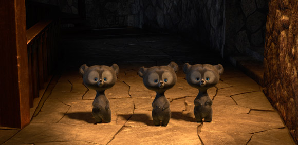 Pixar Brave 3 Little Bears