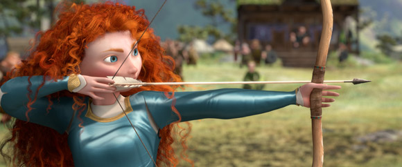 Pixar Brave Merida Shooting