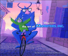 Art of Monsters, Inc. Cover