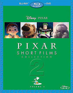 Pixar Short Films Volume Two Cover