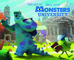 Art of Monsters University Cover