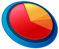 Pie Chart Illustration