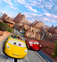 Disney California Adventure Radiator Springs Racers
