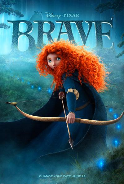 Pixar Brave Theatrical Poster