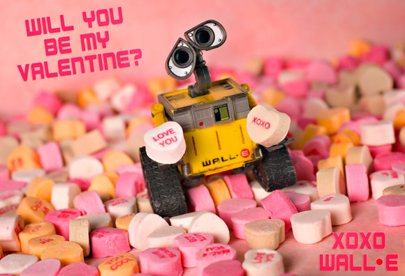 WALL-E Valentine Wishes