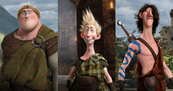 Pixar Brave, Sons of the Lords