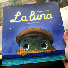 Pixar La Luna picture book cover