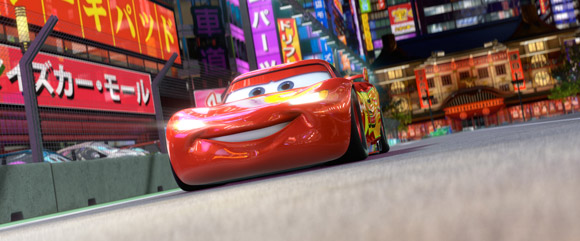 Lightning McQueen from Cars 2