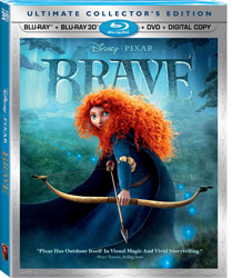 Brave Blu-ray Case