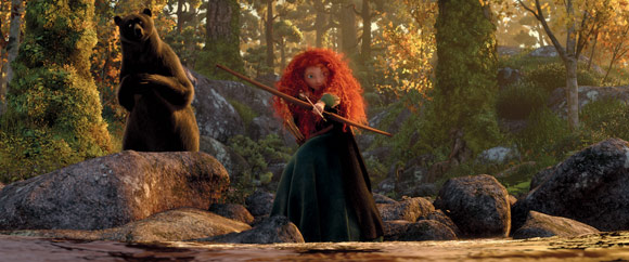 Merida and Mother Bear Hunting