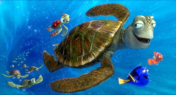 Dori, Marlin and the Sea Turtles of Finding Nemo