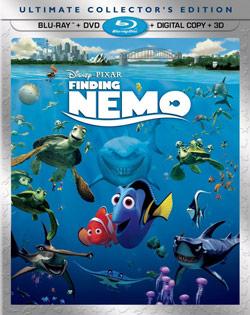 Finding Nemo Blu-ray Cover