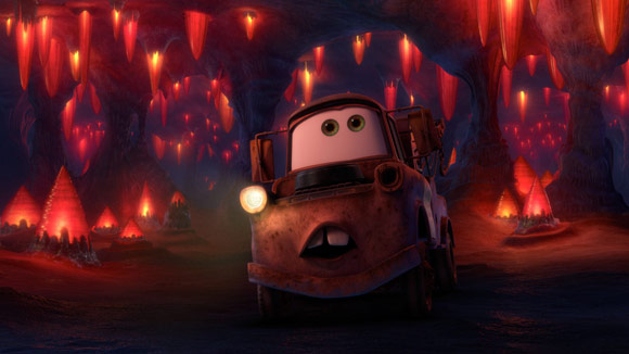 Mater in a Cave
