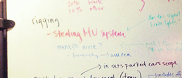Revealing Whiteboard Notes