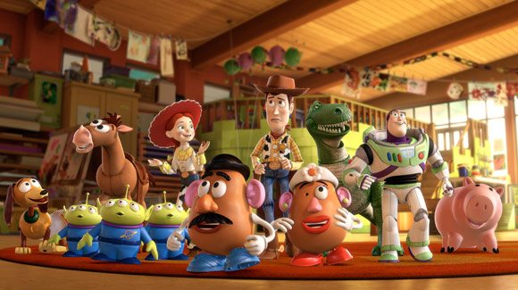 Characters of Toy Story 3