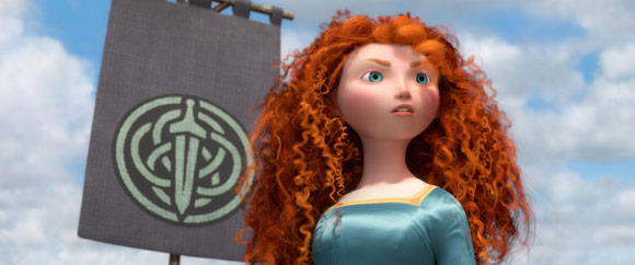 Merida from Pixar's Brave