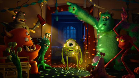 Monsters University Disco Party