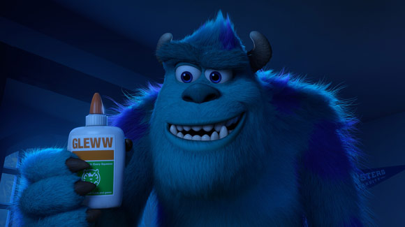 Monsters University Sulley and his Gleww