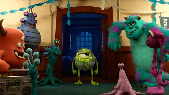 Monsters University Prank