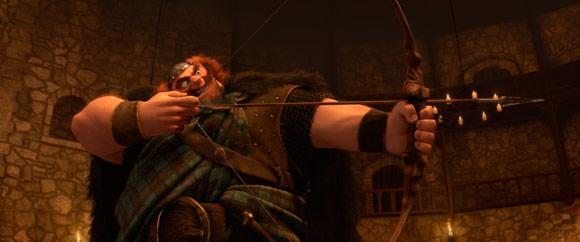 King Fergus Shooting an Arrow