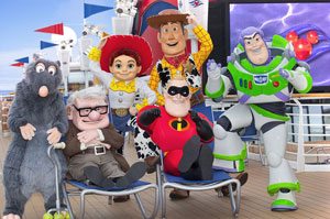 Pixar Themed Disney Cruise