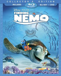 Finding Nemo Blu-ray Cover Art