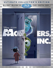 Monsters, Inc. 3D blu-ray cover