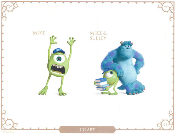 Monsters University Character Mike and Sulley