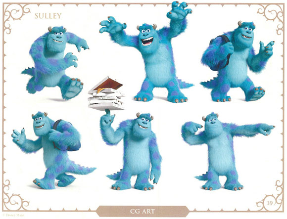 Monsters University Character Sulley