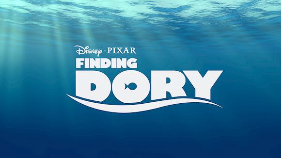 Pixar Finding Dory Logo