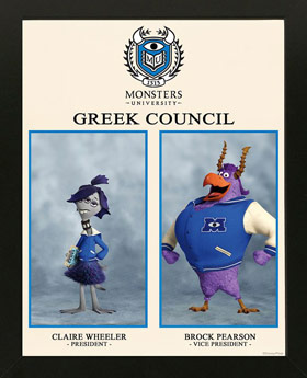 Pixar Monsters University Greek Council data-link=