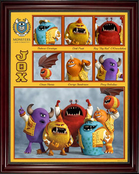 Pixar Monsters University Fraternity JOX