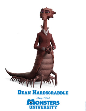 Monsters University Character Detail Dean