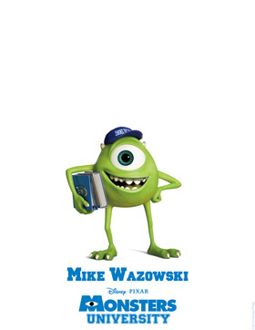 Monsters University Character Detail Mike