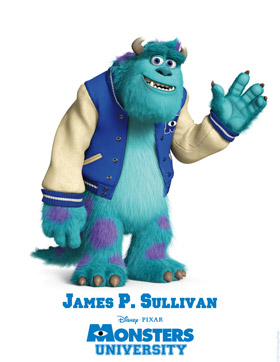 Monsters University Character Detail Sulley