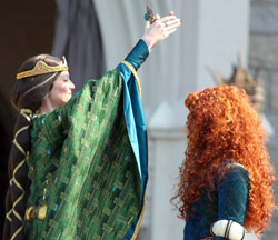 Merida of Pixar's Brave Crowned