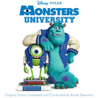 Pixar Monsters University Soundtrack Cover