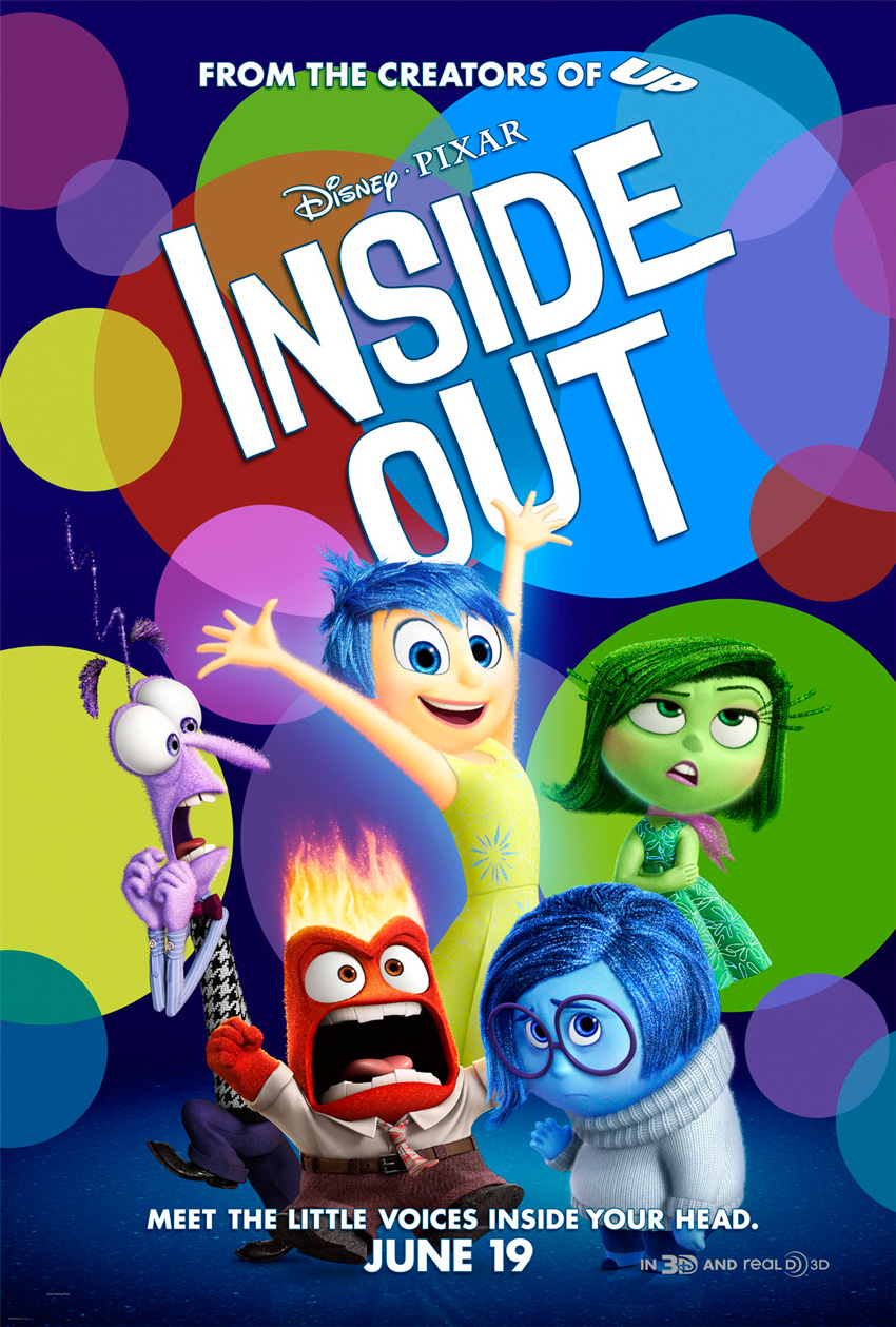 Inside Out Cinematic Poster