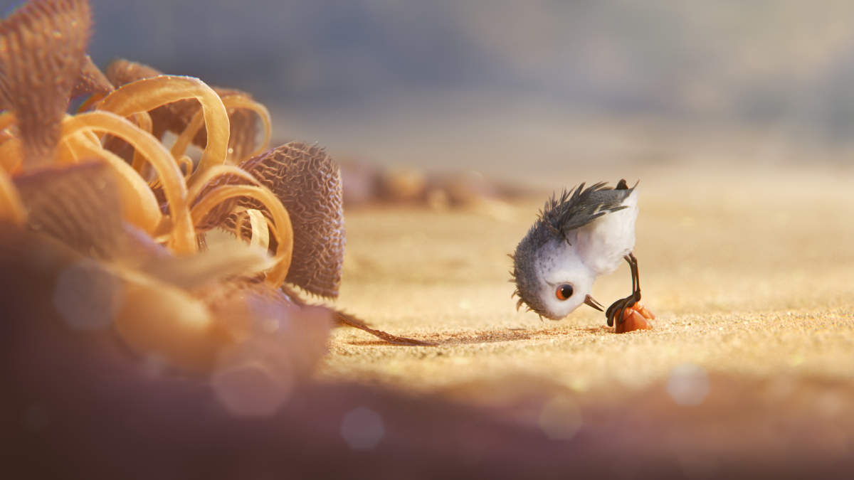 Pixar animated short Piper