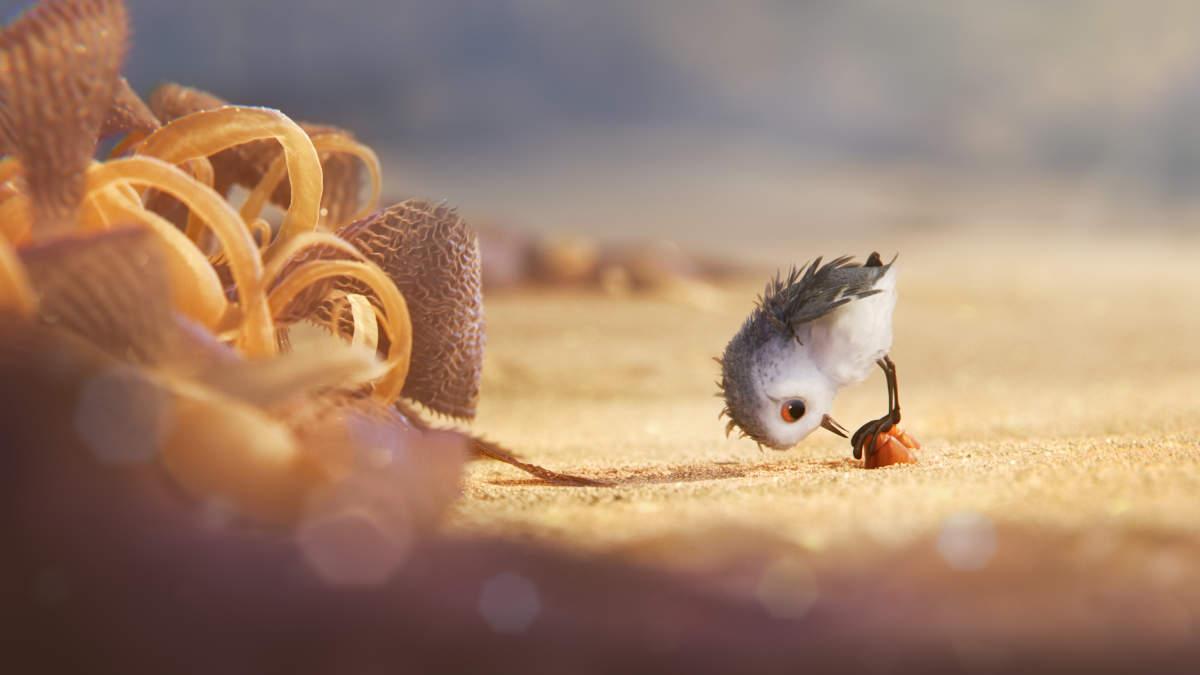 Pixar animated short Piper